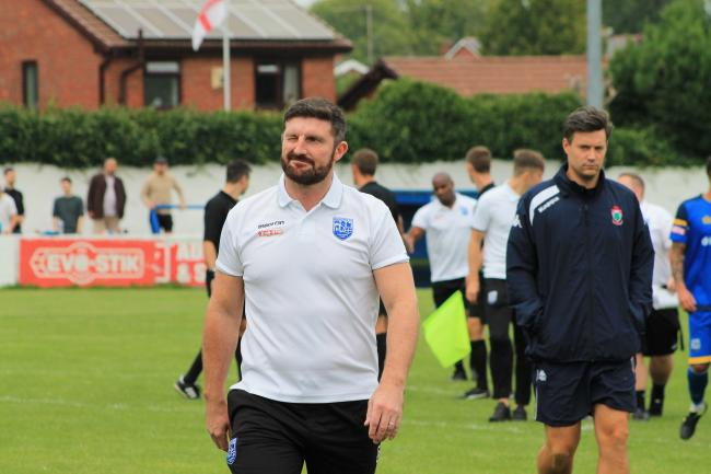 MACK MENTALITY: Jon Macken says Radcliffe will fight to the end in their bid to win promotion to the Evo-Stik League Premier division