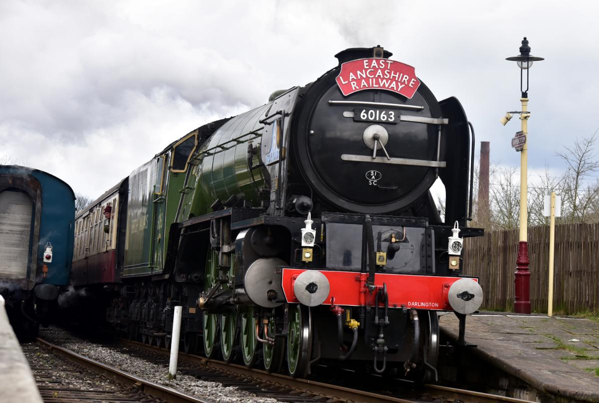 Stones hurled at staff and loco during three day attack on the ELR