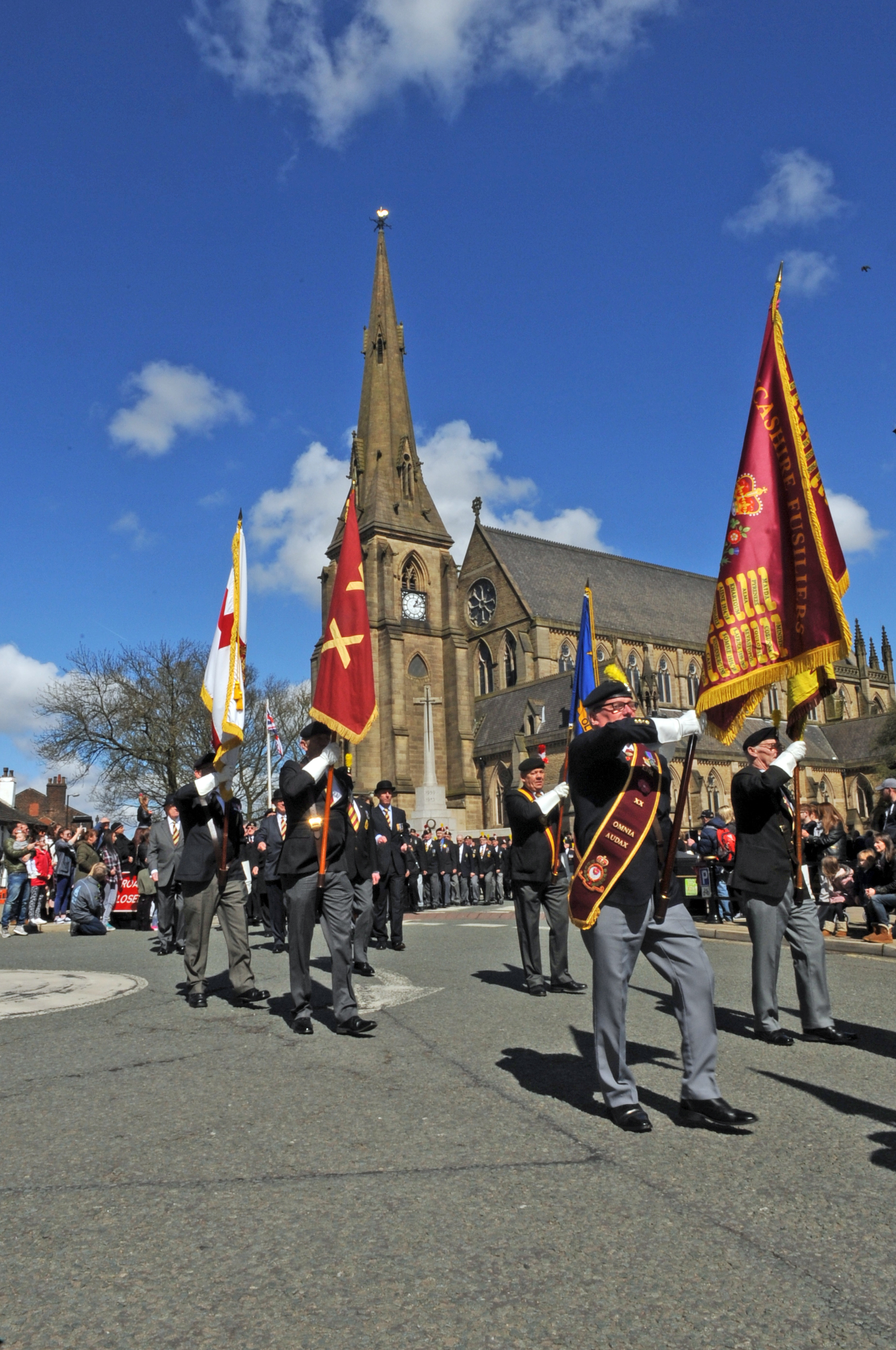 Memorial honouring the Lancashire Fusiliers unveiled at the Gallipoli commemorations