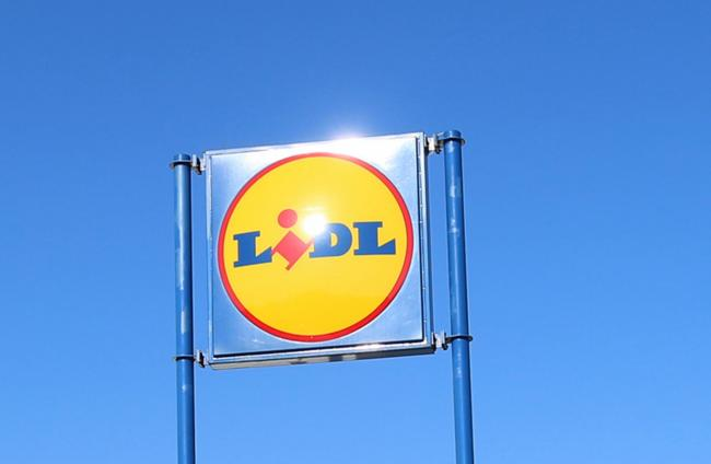 File photo of a Lidl sign