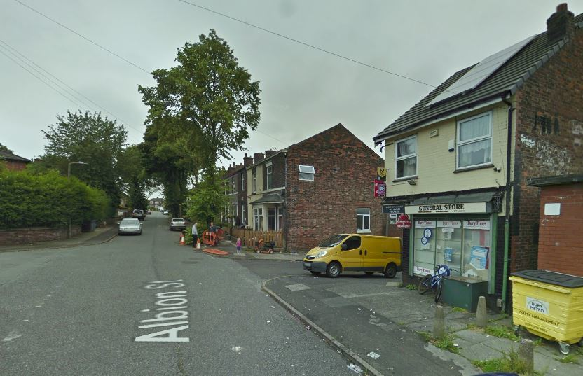 Police were called Albion Street, near Jason's Mini Market. Picture, Google Maps