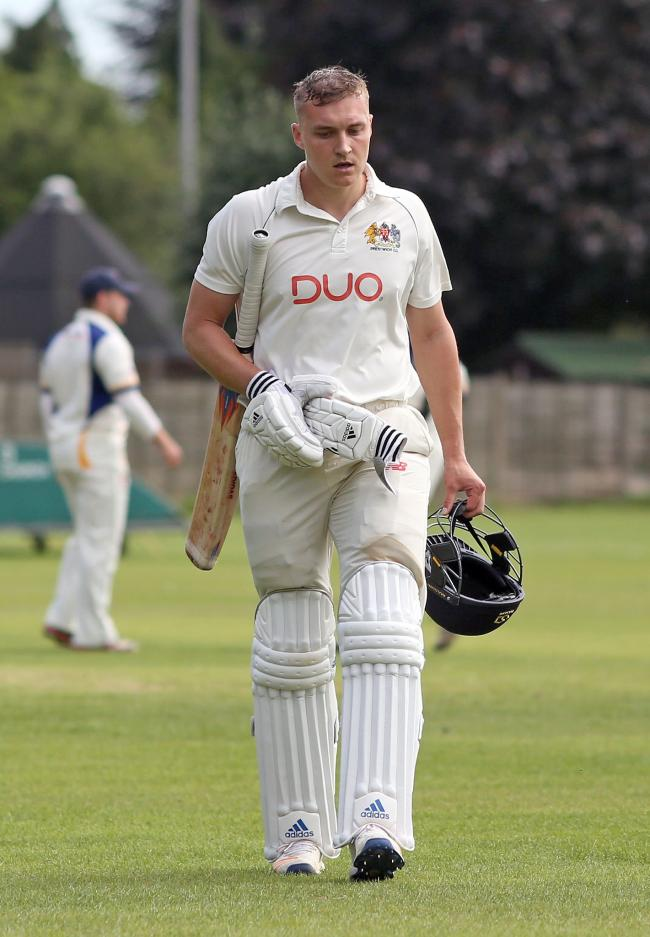 UPBEAT: Prestwich skipper Sam Holden is confident of a good season