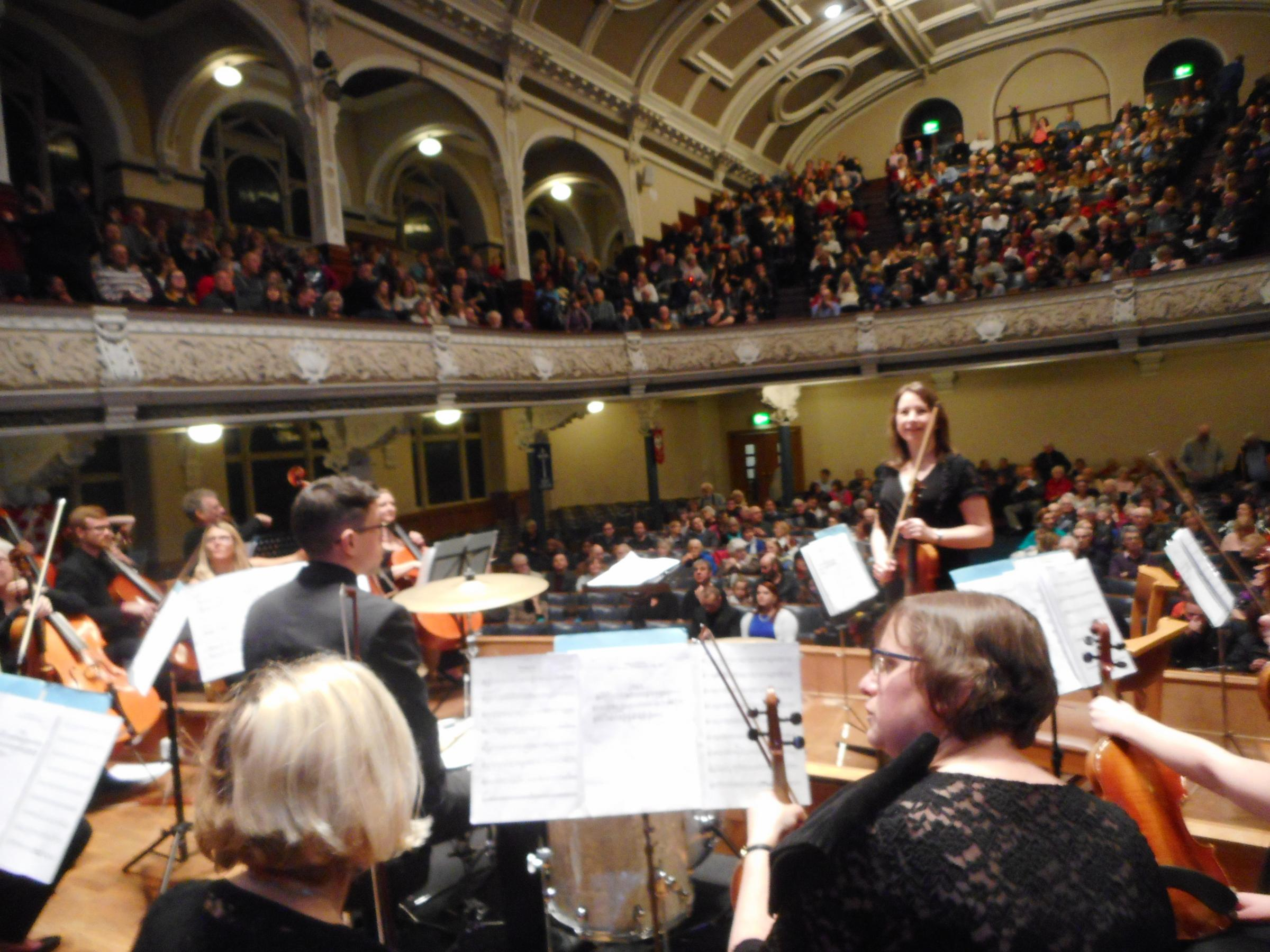 Bolton Symphony Orchestra at Victoria Hall.
