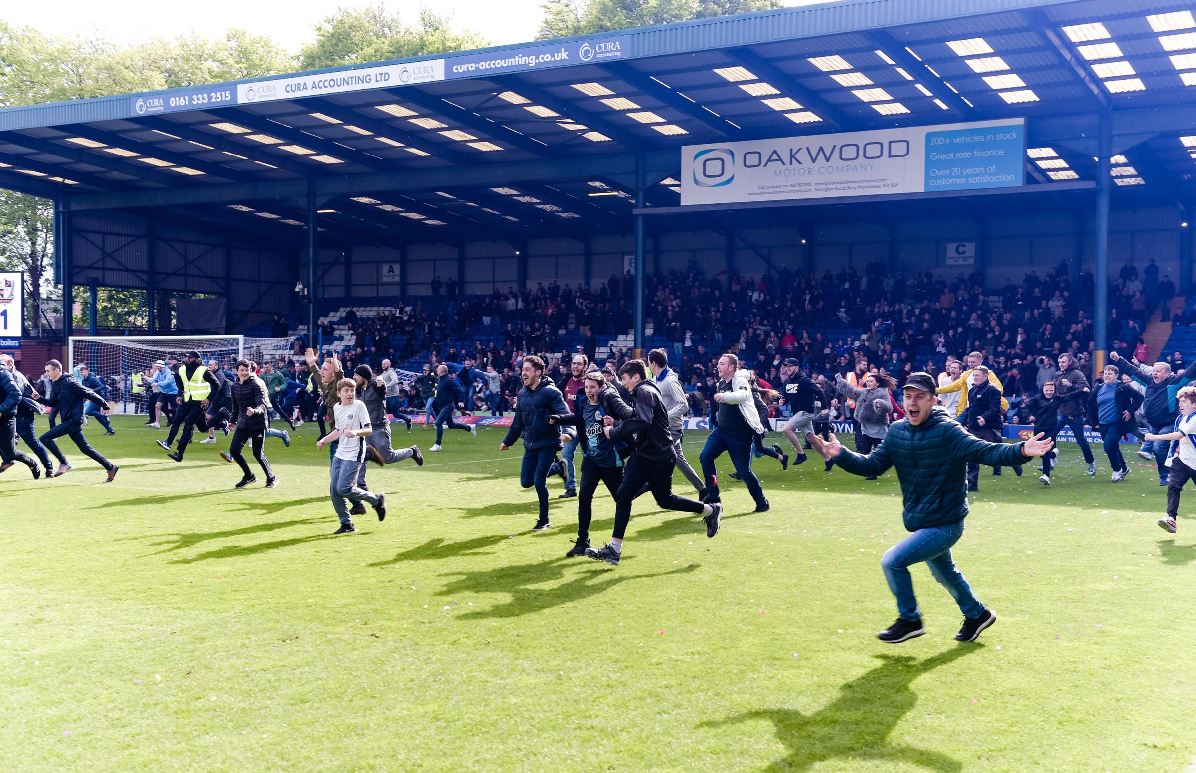 One year on from Bury FC's last match: Where Shakers stand now