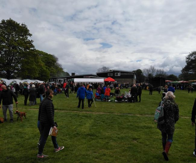 Hundreds of people turned out to Greenmount's annual village party