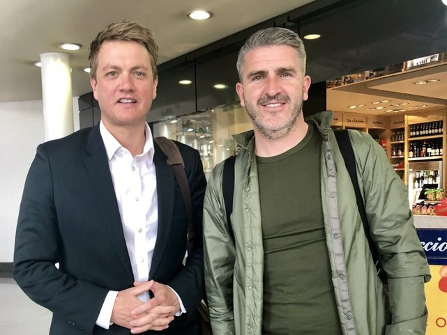 Bury North MP James Frith meets Shakers manager Ryan Lowe to discuss crisis club