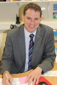 Woodhey High School headteacher Brian Roadnight