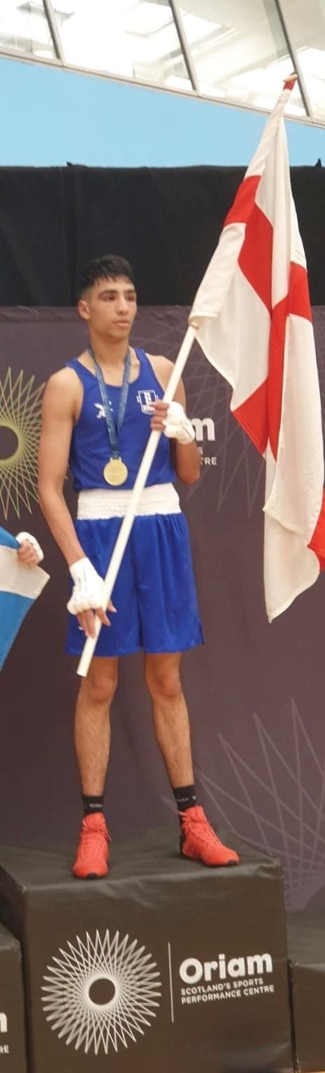 WINNER: Bury ABC's Ibrahim Nadim