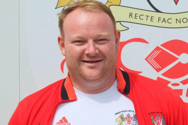 ON THE MOVE: Mark Baguley is moving to AFC Monton